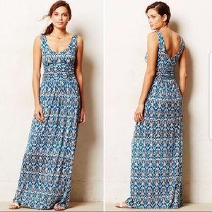 Anthropologie Vanessa Virginia Tidal Maxi Dress XS